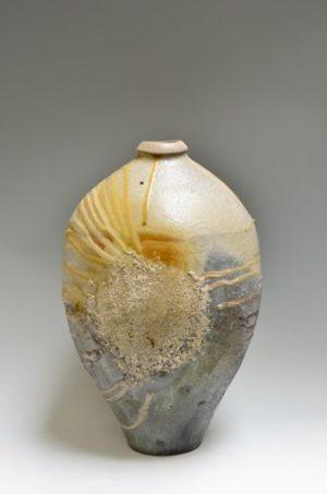 Medium Bottle w/gold leaf