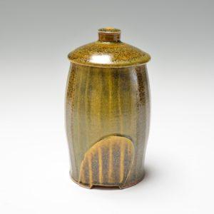 Tall Lidded Jar
