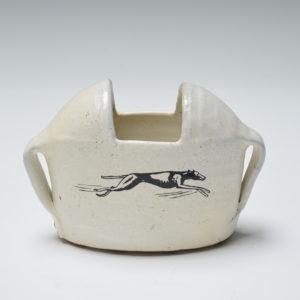 Oval Whippet Vase