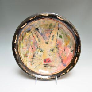 Rabbit Shallow Bowl