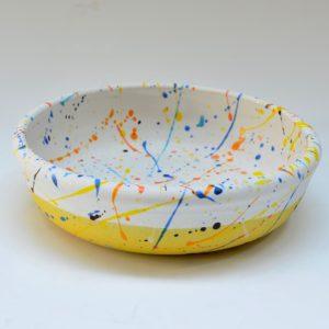 #16 1 Bowl Dots and Orange Flashes