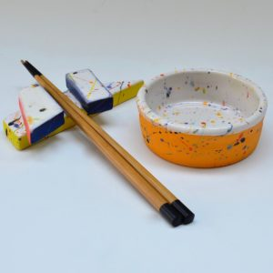 #23 Small Dish and Chopstick Holder