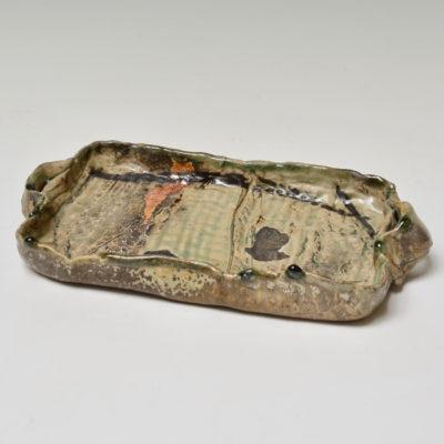 #43 Tray with Celadon Glaze
