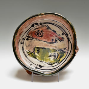 Ron Meyers #12 Fish Serving Bowl