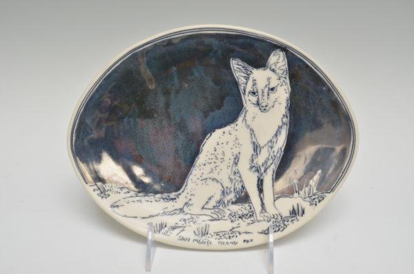 Julia Galloway #7 Santa Rose Island Fox Plate
