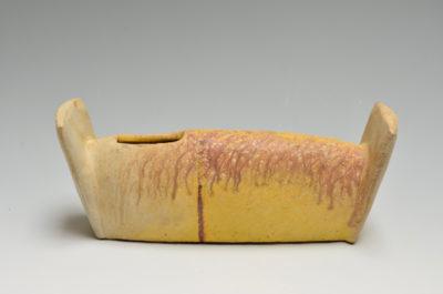 Yellow Ear Vase  JJ-9