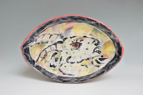 Oval Goat Plate - RM- 13d