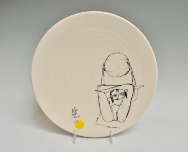 Yoga Ball Plate