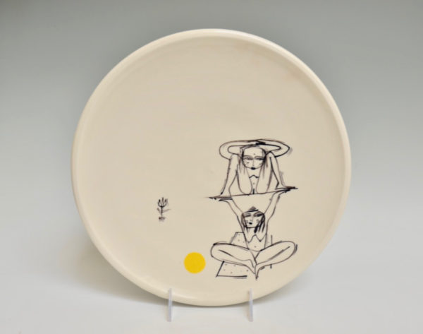 Uplifted Yoga Plate