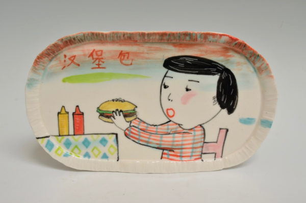 Hamburger Oval Platter