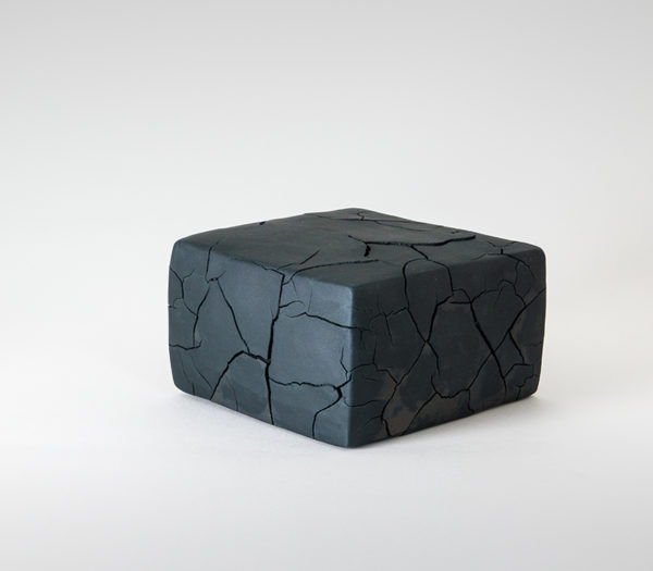 Black Half Cube