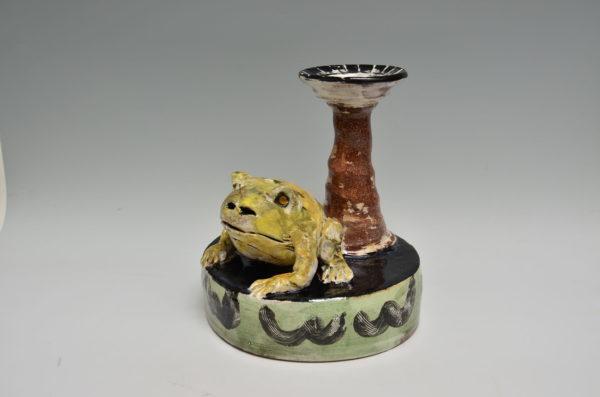 Frog Candelstick     rm-11