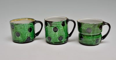 Soda Fired Mugs sold separately a,b,c,