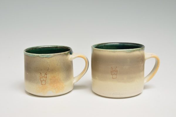 Mugs #67a is sold and 67 b available