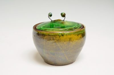 Covered Jar #89