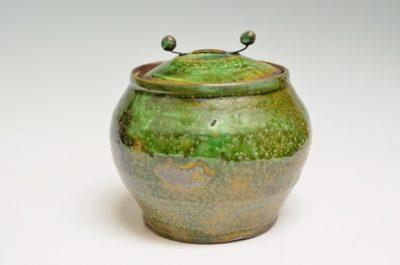 Covered Jar #90