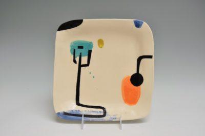 Square Plate #37