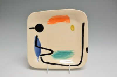 Square Plate #39