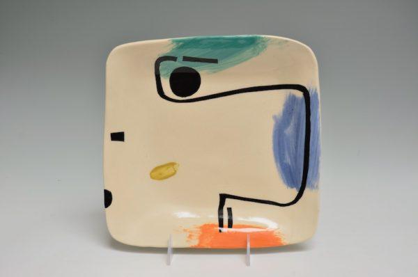 Square Plate #40