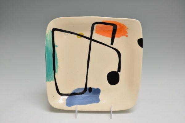Square Plate #41