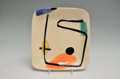 Square Plate #42