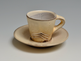 Cup and Saucer  10b