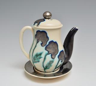Teapot with Saucer     1