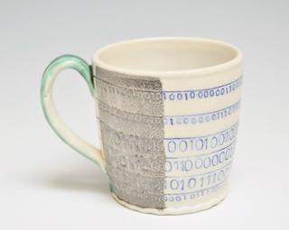Mug with Binary Code 16