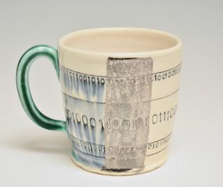 Mug with Binary Code 17