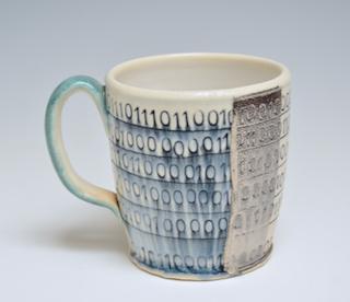 Mug with Binary code     18
