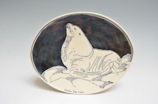 Sea Lion Plate *12