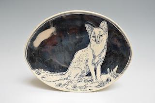 Island Fox Plate  *6