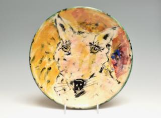 Dog Plate  52